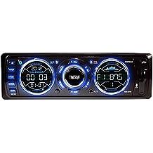 Tunes2Go RUS-121B Digital Car Media Player/Receiver Unit with Bluetooth Handsfree (Black)