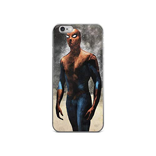 iPhone 6/6s Anti-Scratch Shockproof Clear Case Spider Man Sketch -