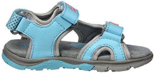 Jack Wolfskin Acora Sandal G, Sandalias Al Aire Libre para Niñas Turquesa (Lake Blue)