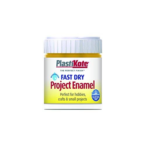 (Plastikote B33w 59ml Enamel Paint Bottle - Brass)