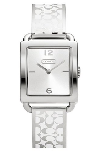 Coach Legacy Bangle Watch 14501731 Msrp $228 (Square Legacy)