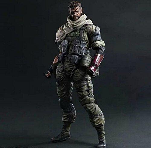 Raiden Mask - TONGROU Metal Gear Solid V The Phantom Play Arts PA Kai Venom Snake Action Figure Statue