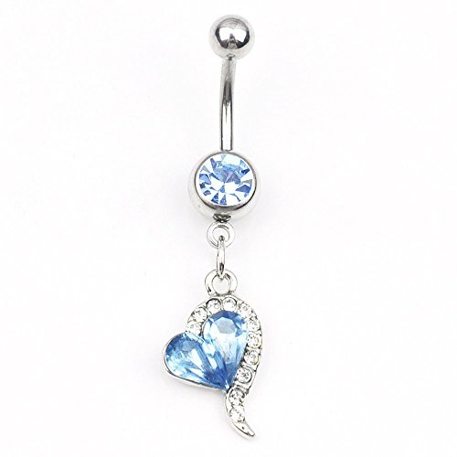 heart belly rings - 9