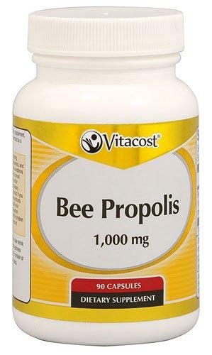 Vitacost Bee Propolis -- 1000 mg - 90 Capsules - 2PC