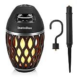 Best Bluetooth Speaker For Outdoors - InstaBox Firestarter FS18 LED Flame Speaker, Torch Light Review