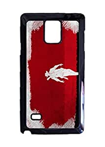 Django Unchained Movie Artwork case Durable Unique Design Hard Back Case Cover For Samsung Galaxy Note 4 New