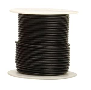 Coleman Cable 16-100-11 Primary Wire, 16-Gauge 100-Feet Bulk Spool, Black