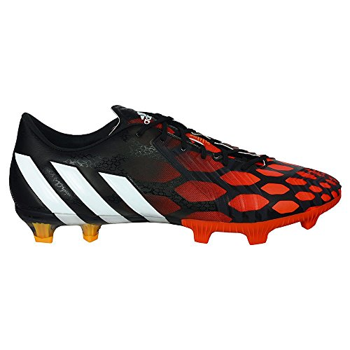 adidas PREDATOR INSTINCT F - Zapatos para hombre Negra-Blanca-Solar red