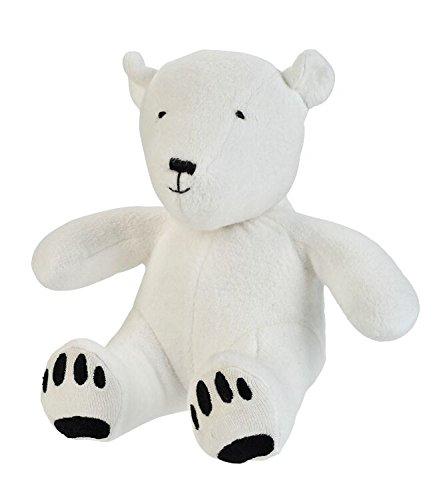 Nile Organic Bear - Under the Nile Unisex Baby Toy Artie the Polar Bear Stuffed Animal 8