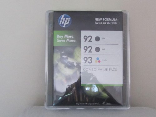 Brother HP Ink Cartridge 3 Pack - 92 93 3 Pack