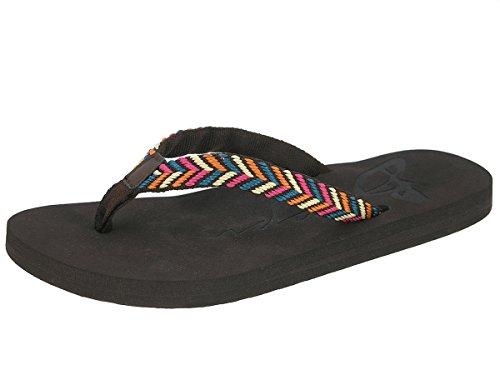 Beppi señoras de las chancletas de zapatillas zapatillas zapatillas de verano marrón