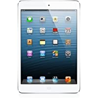 Apple iPad Mini Factory Unlocked Retina Display 16GB (Wi-Fi + 4G LTE) White with Silver - 2nd Generation