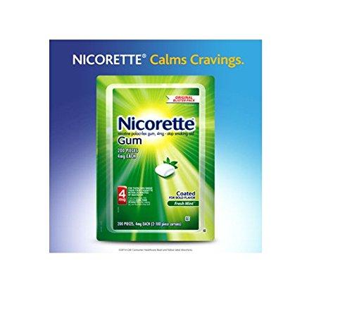 Nicorette Gum Fresh Mint 4 mg - 200