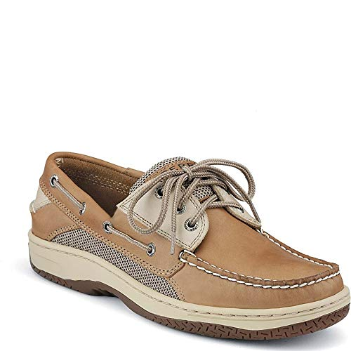 (Sperry Top-Sider Billfish 3-Eye Boat Shoe Men 10.5 Tan Beige )