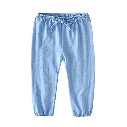 HUAER& Unisex Baby Boys Girls Casual Pants Anti-Mosquito Pants (1 Pack 2 Pack)