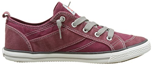 Dockers by Gerli Unisex-Kinder 36vc606-790720 Low-Top Rot (dunkelrot 720)