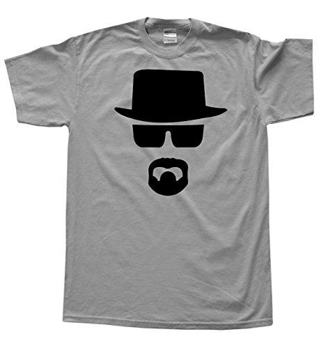 Stooble Men's Bad Heisenberg Sport Grey T-Shirt, Size XL