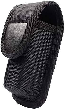ROCOTACTICAL OC Mace Spray Holder Pouch for MK3 Canister, Police Duty OC Pepper Spray Holster Pouch, Black