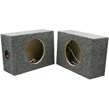 Wondrous Amazon Com Dnf 2 Pack 1 Pair Custom 6 1 2 Square Speaker Box Wiring 101 Cominwise Assnl