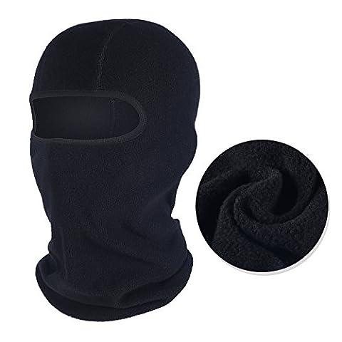 Qinglonglin Balaclava for Winter Fleece Warm Head Hood Motorcycle Ski Cycling Windproof Face Mask - Winter Balaclava