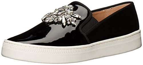 Badgley Mischka Womens Barre Sneaker Nero