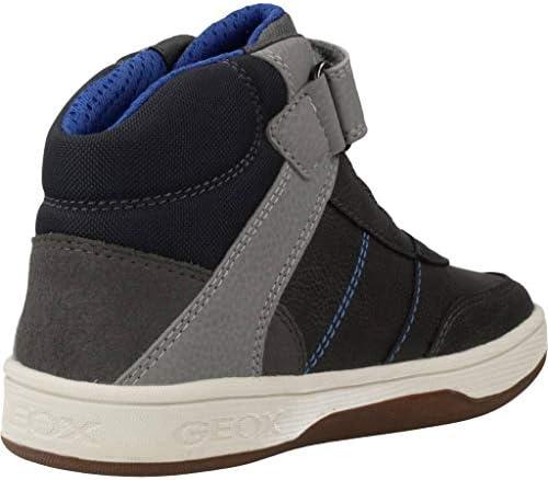 Scarpe da Bambino Sneaker J Maltin B.A Pelle Grigia J94G3A-0MECE-C0071
