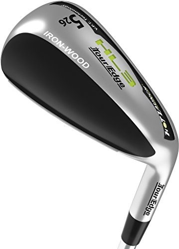 Tour Edge Women's HL3 Iron-Wood, Right Hand, Ladies, Graphite, 3 Hybrid ()
