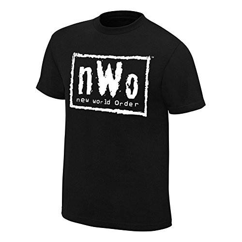 WWE Authentic Wear NWO Retro T-Shirt Black Large