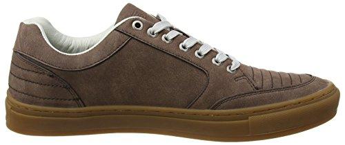 British Knights Herren Tudor Sneaker Braun (Dk Brown/Crepe)