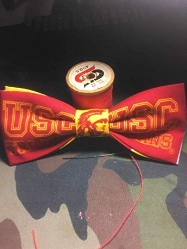 (USC bow tie, USC Trojans bow ties | College Student Gift | College football | Graduation Gift | Mens bow tie)