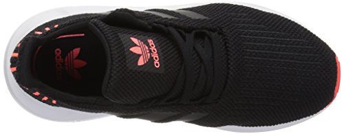 adidas Originals Baby Swift Running Shoe Black/Solar red, 9.5K M US Toddler by adidas Originals (Image #7)