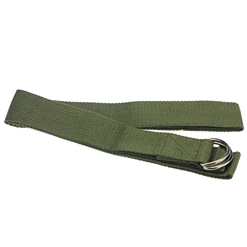 Physical Therapy Strap Strap For Stretching - New Multi-Colors Women Yoga Stretch Strap D-Ring Belt Fitness Exercise Gym Rope Figure Waist Leg Resistance Fitness - Green Stretch Strap (Green)