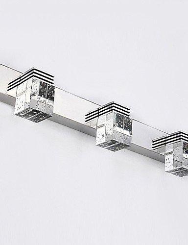 benvenuto a scegliere ZQ Lampade a candela da parete   Illuminazione bagno bagno bagno   Lampade da parete Cristallo   LED   Stile Mini Moderno contemporaneo Metallo , bianca-220-240v  stile classico