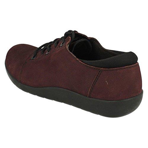 Clarks 5 0 Medora Womens Aubergine Shoe D Bella 4Trw4qXx