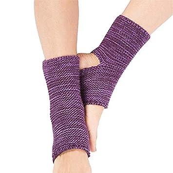 Ecovers Calcetines de Yoga para Mujeres Calentadores para ...