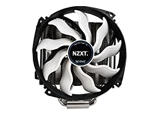 NZXT HAVIK CPU Cooler with Dual 140MM Fans - Silver/Black