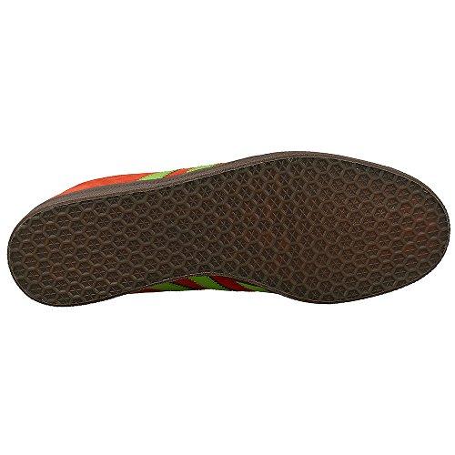 Adidas Uomini Gazzella Rosso Semi Solare Verde Gomma Rossa