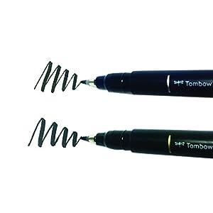 Tombow Fudenosuke Brush Pen 2 Pens Set