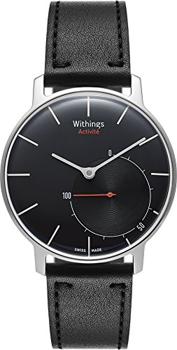 Certified Swiss Made - Withings Activité Sapphire - Activity and Sleep Tracking Watch - Swiss-Made