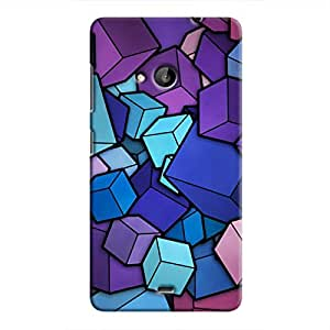 Cover It Up - Cube Heap Lumia 535Hard Case