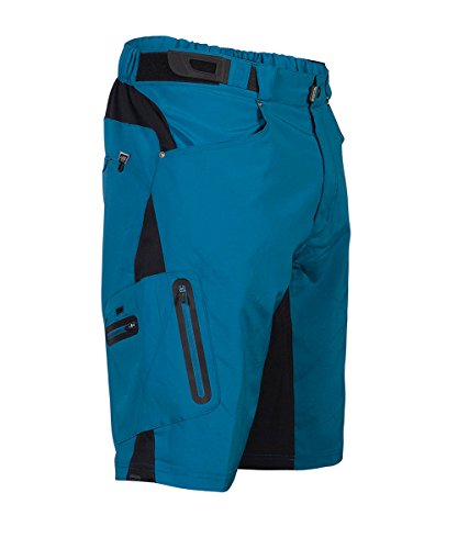ZOIC Boy's Ether Jr. Shorts, Blue, Small by ZOIC