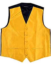 Azwtrade Mens or Womans Solid Vest Chocolate Brown