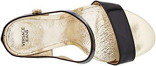 Cinturino alla Caviglia Scarpe Jeans Nero Versace con Donna B4zAPWZ