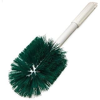 "Carlisle 4001009 Multi-Purpose Round Valve Brush, 5"" Polyester Bristles, 16"" Length, Green"