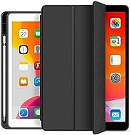 Capa Novo iPad 7a e 8a Geração 10.2″ WB Premium Slim Antichoque com Compart. para Pencil Preta