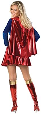 Rubie's Costume Co - Supergirl Deluxe Adult Costume | Computers And Accessories