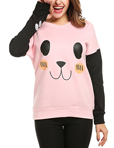 Embroidered Winter Sweatshirt - 1