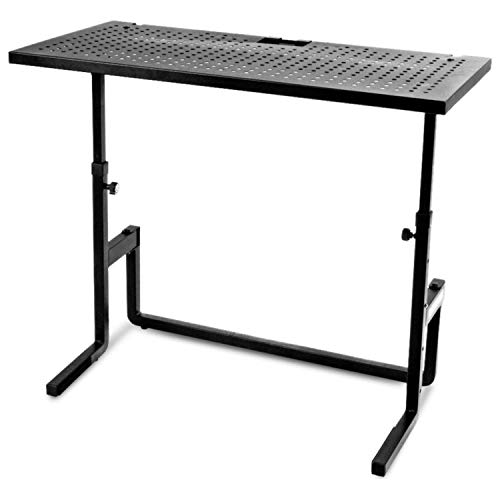 Read About Quik Lok DJ Table and Mixer Stand Equipment (DJ233)