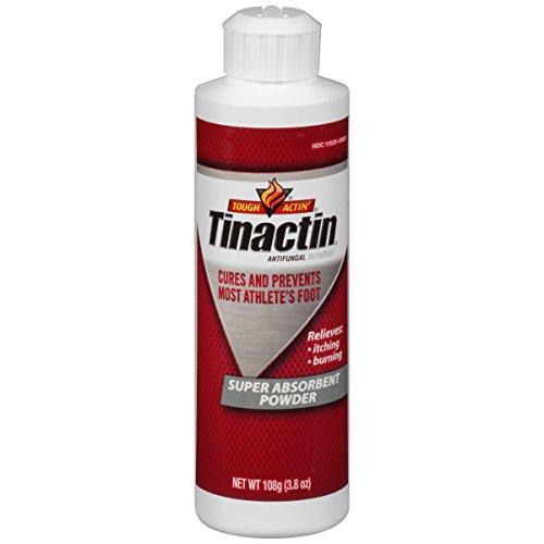 Tinactin Super Absorbent Antifungal Powder, 3.8-Ounce Bottles (Pack of (Super Absorbent Powder Antifungal)
