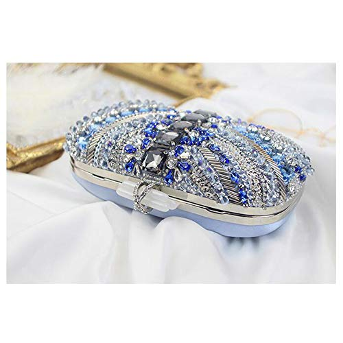 Clubs Clutch Joy crystal Evening rhinestone Party Miss Bag Shoulder Bag Women For Nightclub Purse Wedding With Chain caqnfdd0w